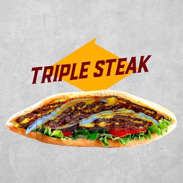 Triple-Steak